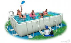 Intex 28352 каркасный бассейн
