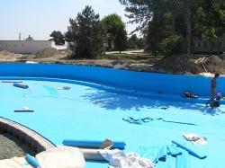 Desjoyaux лайнер 7х3,5 прямоугольный,  0,75 мм, голубой купить