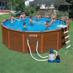 Intex 54930 каркасный бассейн